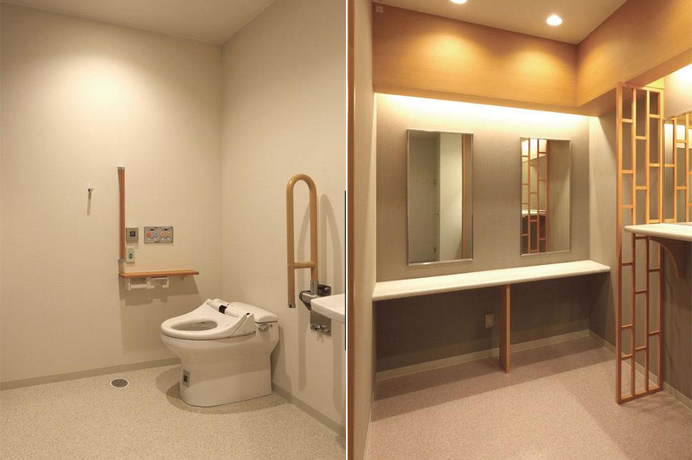 多目的トイレ&おむつ替え台